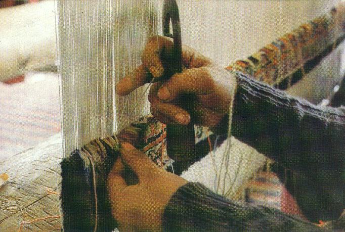 Ковры ручной работы - Узлы.  Плетение ковров.  - Статьи.
