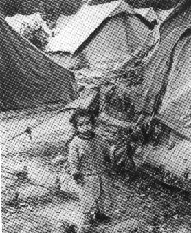 The refugee camps at Jammu.